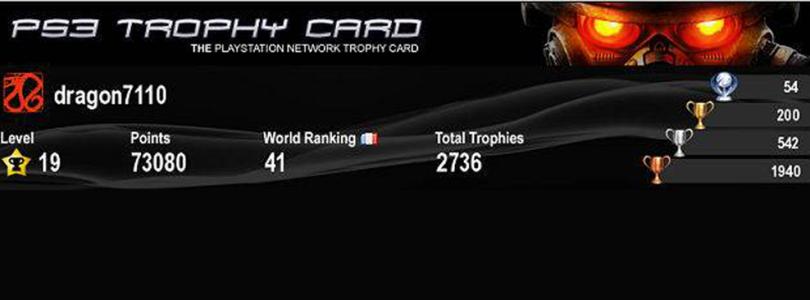 La chasse aux trophées sur PS3Gen